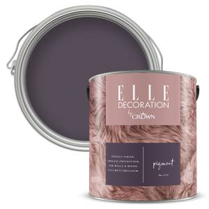 ELLE Decoration by Crown Flat Matt Paint - Pigment 2.5L