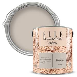 ELLE Decoration by Crown Flat Matt Paint - Blended 2.5L