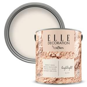 ELLE Decoration by Crown Flat Matt Paint - Highlight 2.5L
