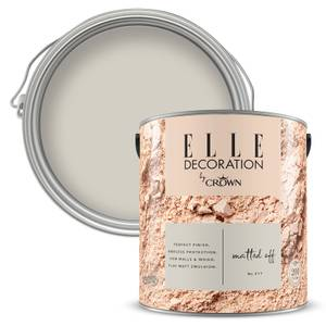 ELLE Decoration by Crown Flat Matt Paint - Matt Paint -ed Off 2.5L
