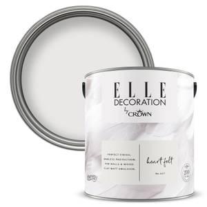 ELLE Decoration by Crown Flat Matt Paint - Heart Felt 2.5L