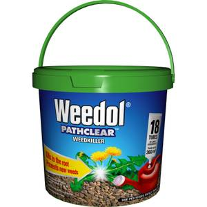 Weedol Pathclear Liquid Concentrate Weedkiller - 18 Tubes