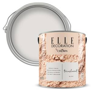 ELLE Decoration by Crown Flat Matt Paint - Translucent 2.5L