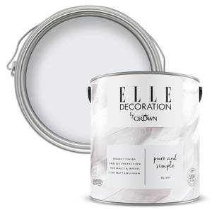 ELLE Decoration by Crown Flat Matt Paint - Pure Simple 2.5L