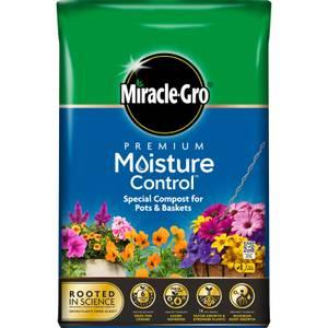 Miracle-Gro Premium Moisture Control Compost - 75L