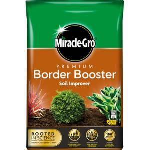 Miracle-Gro Premium Border Booster Soil Improver - 40L