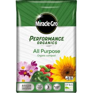 Miracle-Gro Performance Organics All Purpose Organic Compost - 40L