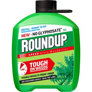 Roundup Speed Ultra Ready To Use Pump N Go Weedkiller Refill - 5L