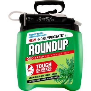 Roundup Speed Ultra Ready To Use Pump N Go Weedkiller - 5L