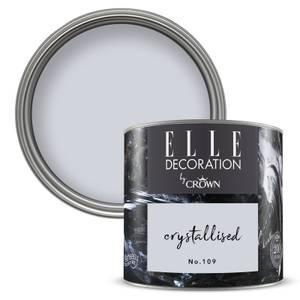 ELLE Decoration by Crown Flat Matt Paint - Crystallised 125ml