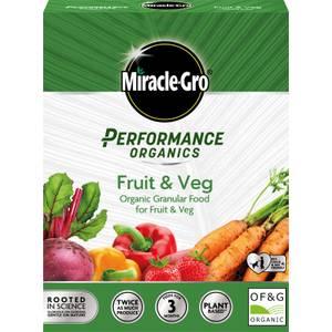 Miracle-Gro Performance Organics Fruit & Veg Food  - 1kg