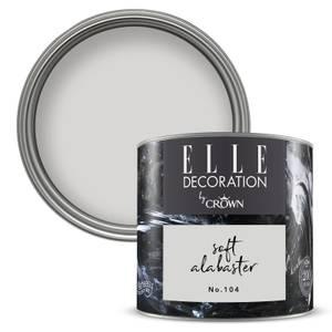 ELLE Decoration by Crown Flat Matt Paint - Soft Alabaster 125ml