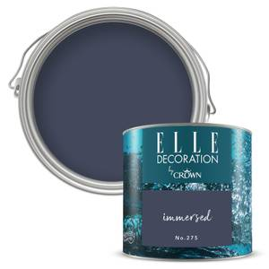 ELLE Decoration by Crown Flat Matt Paint - Immersed 125ml