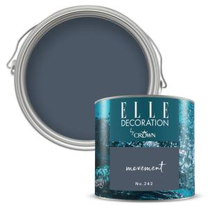 ELLE Decoration by Crown Flat Matt Paint - Movement 125ml