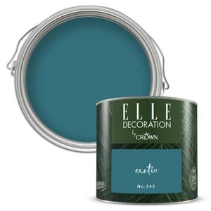 ELLE Decoration by Crown Flat Matt Paint - Exotic 125ml