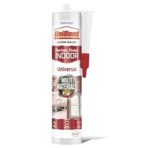 UniBond Universal Indoor Sealant Translucent Cartridge 273g