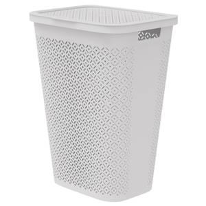 Curver Terrazzo Laundry Hamper 55L - Grey