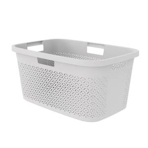 Curver Terrazzo Laundry Basket 47L - Grey