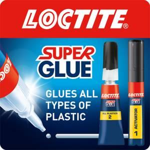 Loctite Super Glue All Plastics 2g + 4ml