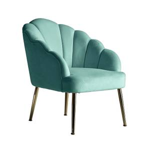 Sophia Scallop Occasional Chair - Duck Egg Blue