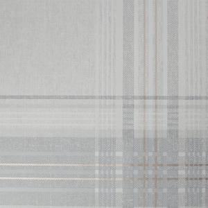 Superfresco Rhea Plaid Grey Rose Gold Wallpaper