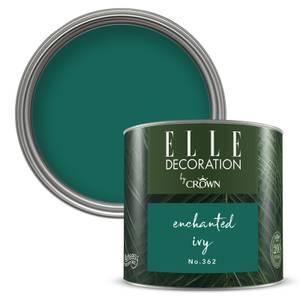 ELLE Decoration by Crown Flat Matt Paint - Enchanted Ivy 125ml