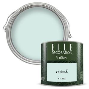 ELLE Decoration by Crown Flat Matt Paint - Revival 125ml