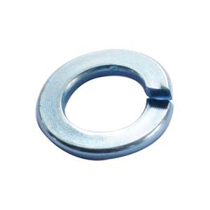 Spring Washer - Bright Zinc Plated - M6 - 25 Pack