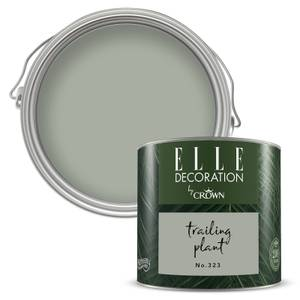 ELLE Decoration by Crown Flat Matt Paint - Trailing Plant 125ml