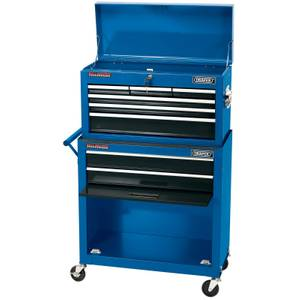 Draper Combined Roller Cabinet and Tool Chest (8 Drawer)