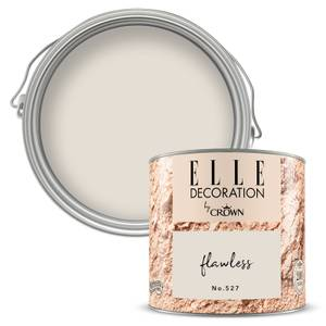 ELLE Decoration by Crown Flat Matt Paint - Flawless 125ml