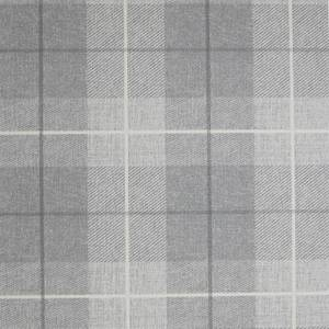Arthouse Country Tartan Textured Grey and Silver Wallpaper