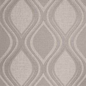 Arthouse Curve Geometric Textured Taupe Wallpaper