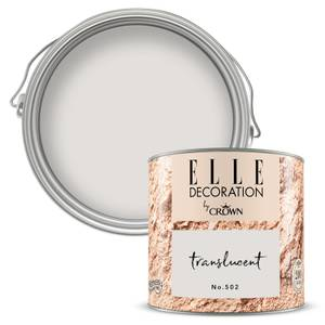 ELLE Decoration by Crown Flat Matt Paint - Translucent 125ml