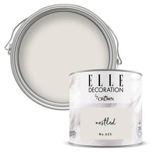 ELLE Decoration by Crown Flat Matt Paint - Nestled 125ml