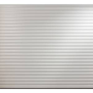White Insulated Electric Roller Garage Door for 2100 to 2149mm (Width)