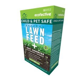 Ecofective Natural Lawn Feed + Root Enhancer - 150m2