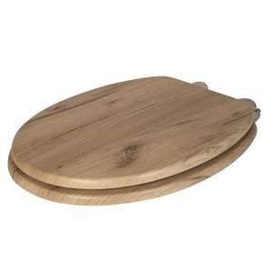 Corella Grey Oak Driftwood Effect Toilet Seat