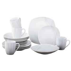 Harper 16 Piece Dinner Set - Grey