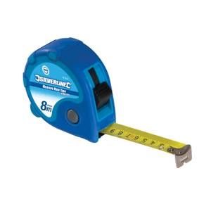Silverline Measure Mate Tape 8m / 26ft x 25mm