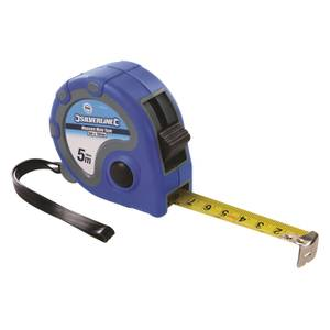 Silverline Measure Mate Tape 5m / 16ft x 19mm