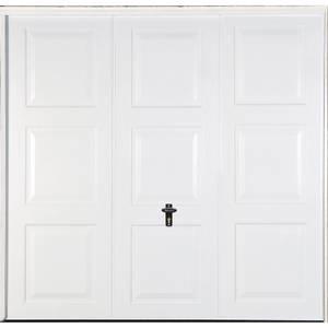 Georgian 7' x 6' 6 Frameless Steel Garage Door White