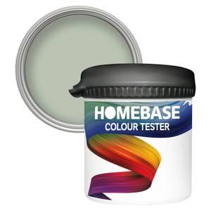 Homebase Matt Colour Paint Tester - Fresh Herb 90ml
