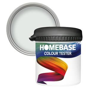 Homebase Matt Colour Paint Tester - Blue Lace 90ml