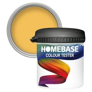 Homebase Matt Colour Paint Tester - Yellow Brick Road 90ml