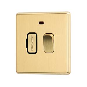 Arlec Fusion 13A Gold Switched fused connection unit