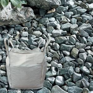Stylish Stone Sea Green Cobbles - Bulk Bag 750 kg