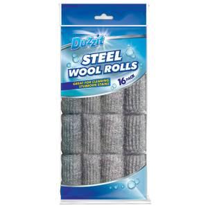 Steel Wool Balls - Pack of 16