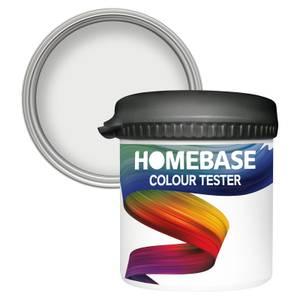 Homebase Matt Colour Paint Tester - Coconut Milk 90ml