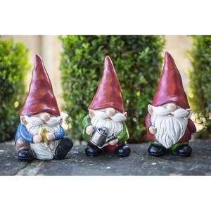 Traditional Resin Gnome 18cm